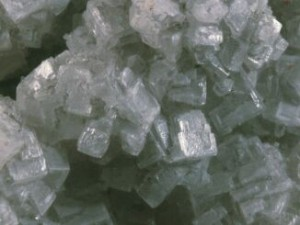 Amorphous and crystalline state of the mineral